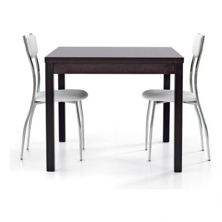 Tavolo 90x90 cm allungabile