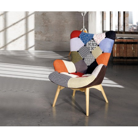 Poltrona patchwork