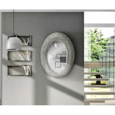 Specchio argento 90x65 cm